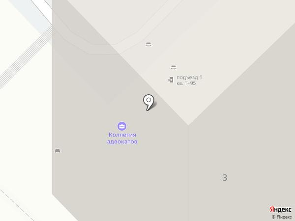 Коллегия адвокатов Тракторозаводского района на карте Волгограда