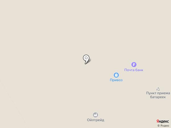 Привоз на карте Волгограда