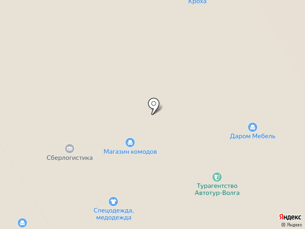 Много мебели на карте Волгограда