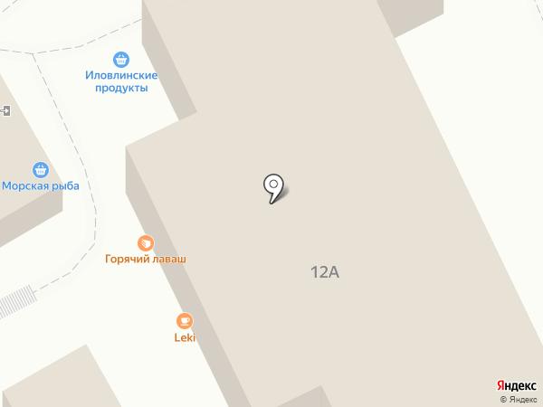 Табакерка на карте Волгограда