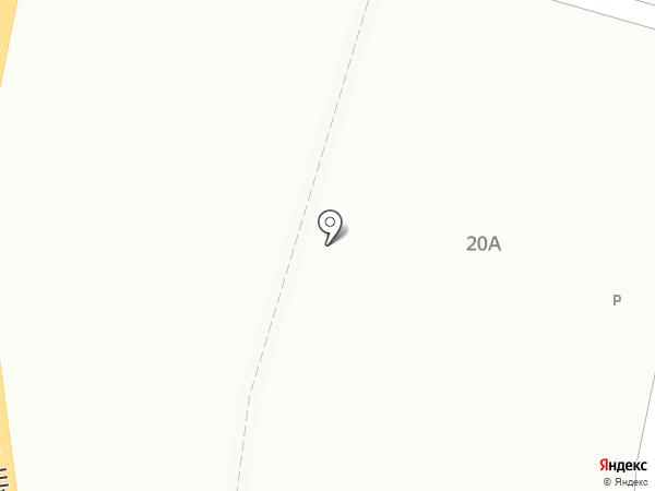 Хлебный дом на карте Волгограда