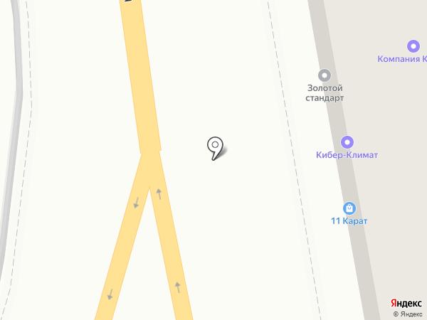 11 Карат на карте Волгограда