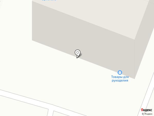 Магазин товаров для рукоделия на карте Волгограда