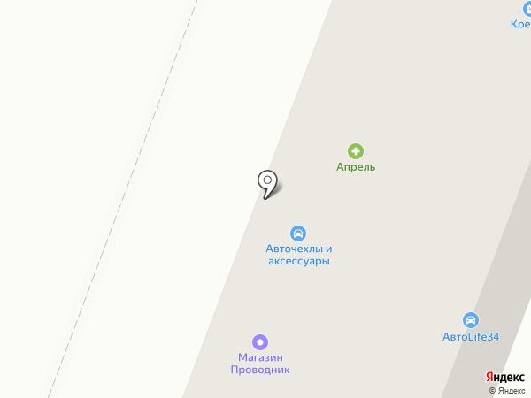Аллювиз на карте Волгограда