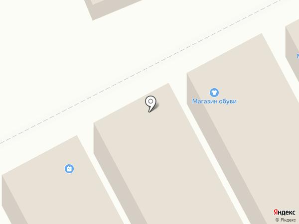 Магазин одежды и обуви на карте Волгограда
