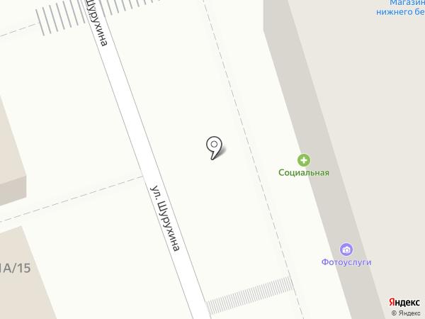 Лилия на карте Волгограда