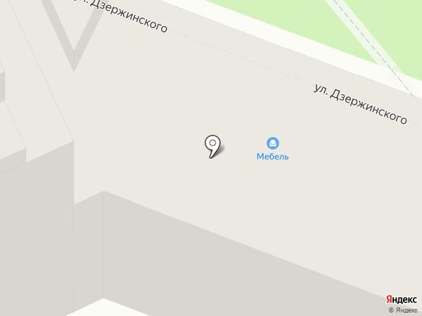 Модистка на карте Волгограда