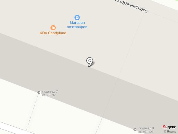 Пуговка на карте Волгограда