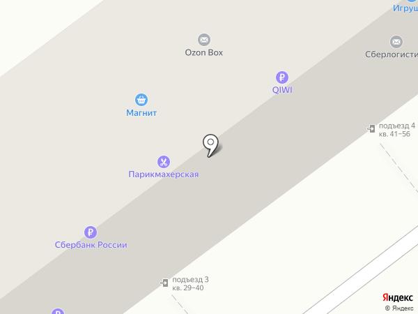 Магазин игрушек на карте Волгограда