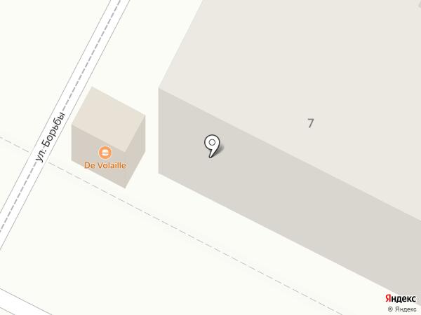 Профессионал на карте Волгограда
