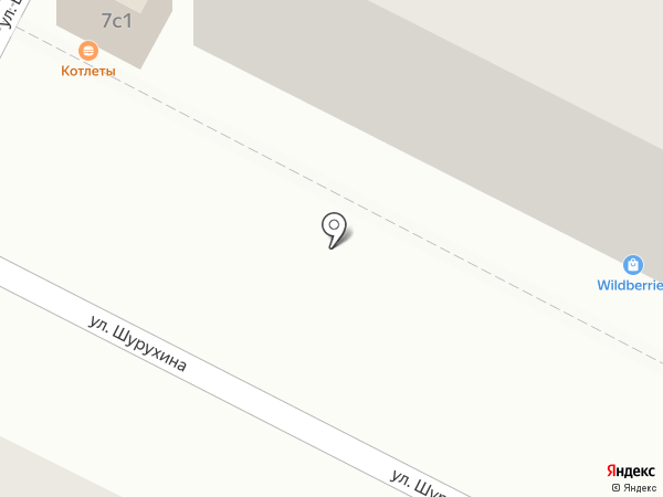 Нотариус Чернова Е.В. на карте Волгограда