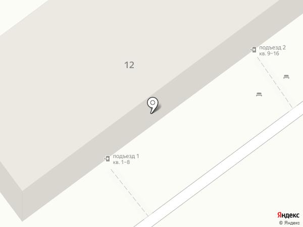 Тропа на карте Волгограда