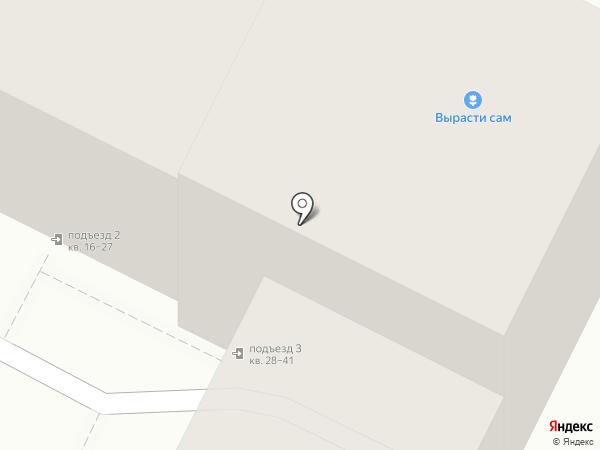 Детский сад №170 на карте Волгограда