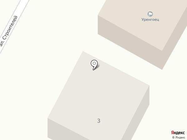 Уренгоец на карте Краснослободска