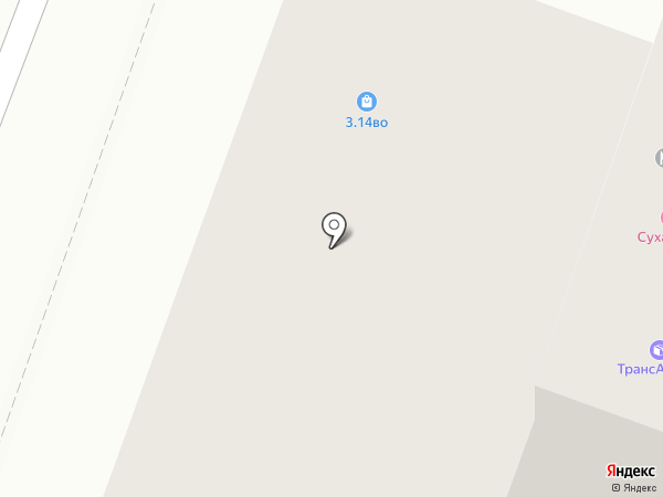 Пекарь на карте Волгограда