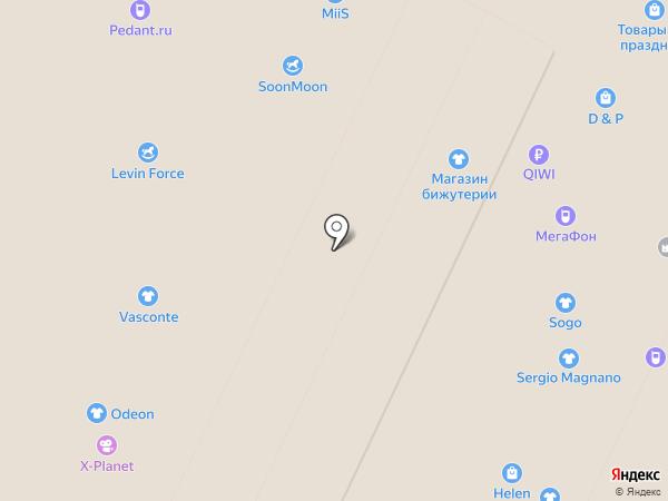 Моя ложка на карте Волгограда