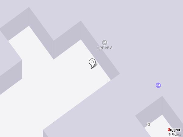 Детский сад №391 на карте Волгограда