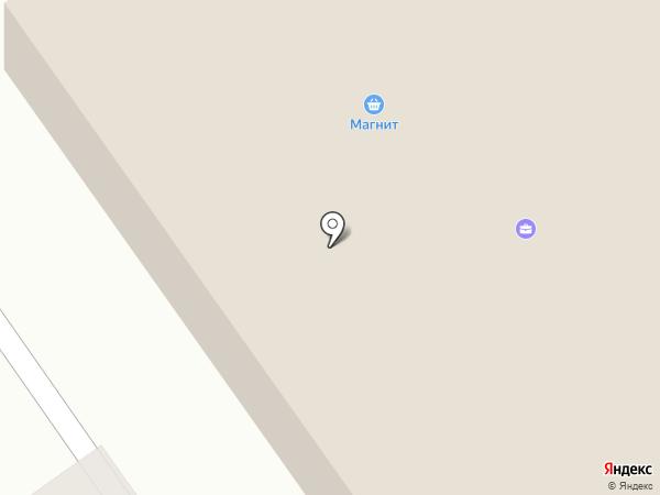 Сеть расчетно-информационных центров на карте Волгограда