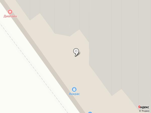 Бурый на карте Волгограда