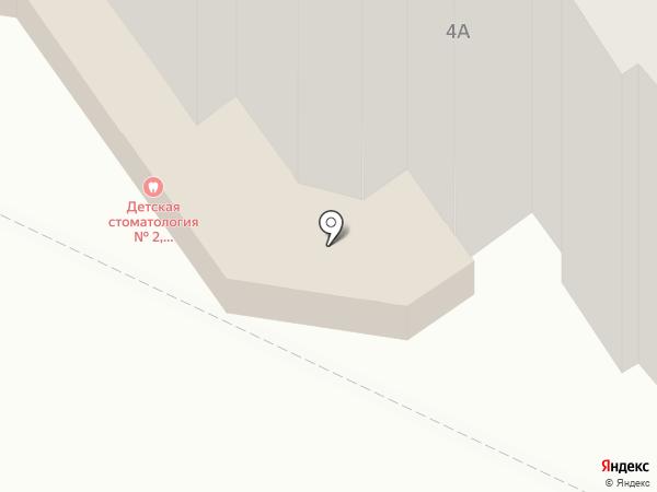 Контек на карте Волгограда