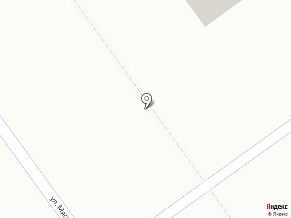 Магазин овощей и фруктов на ул. Мясникова на карте Волгограда