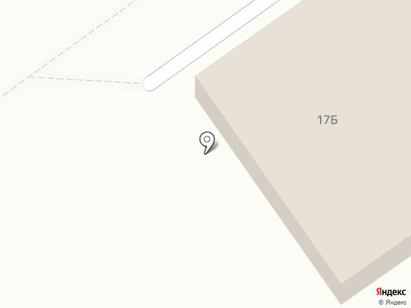 У Бори на карте Волгограда