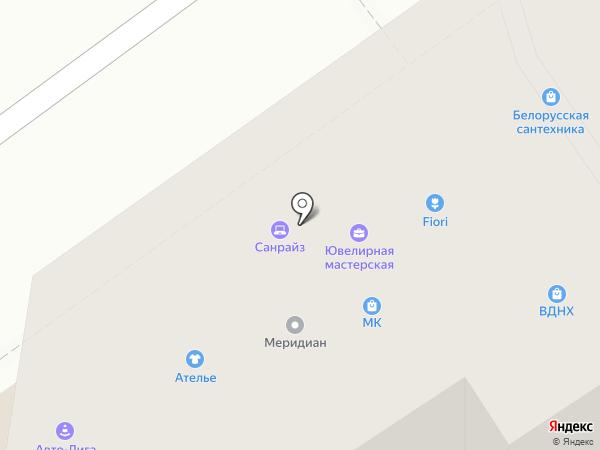 Стиль на карте Волгограда