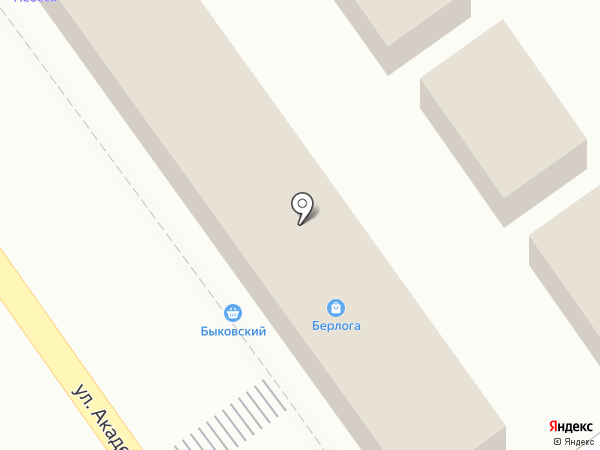 Восточная лавка на карте Волгограда