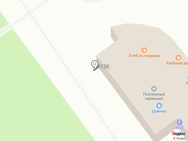МТС на карте Волгограда