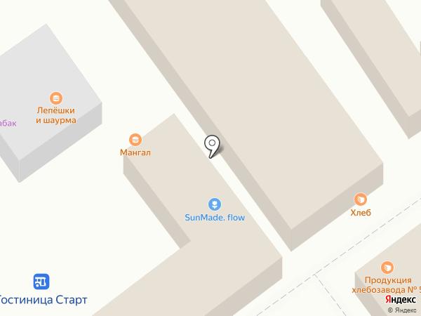 Магазин чая и кофе на карте Волгограда