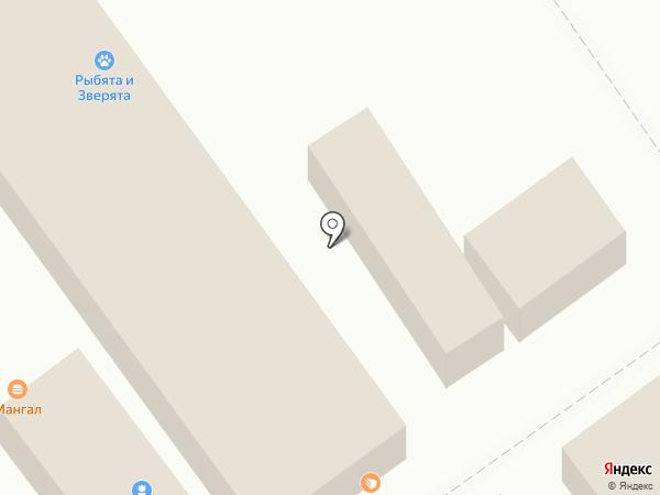 Магазин яиц на карте Волгограда