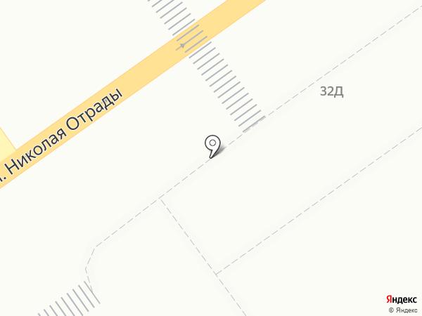 Магазин молочной продукции на карте Волгограда