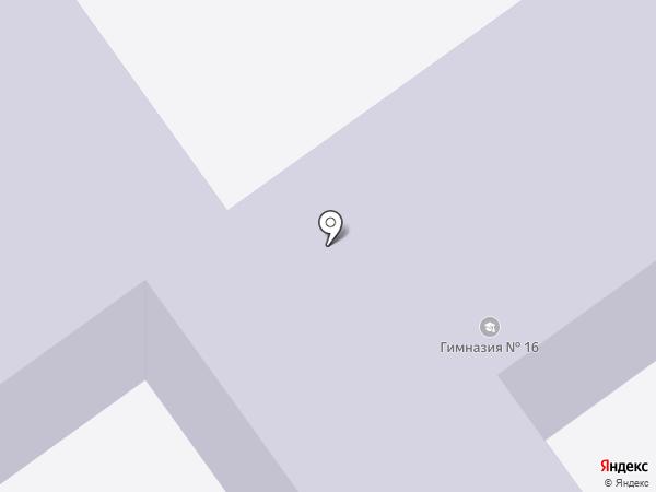 Средняя общеобразовательная школа №45 на карте Волгограда