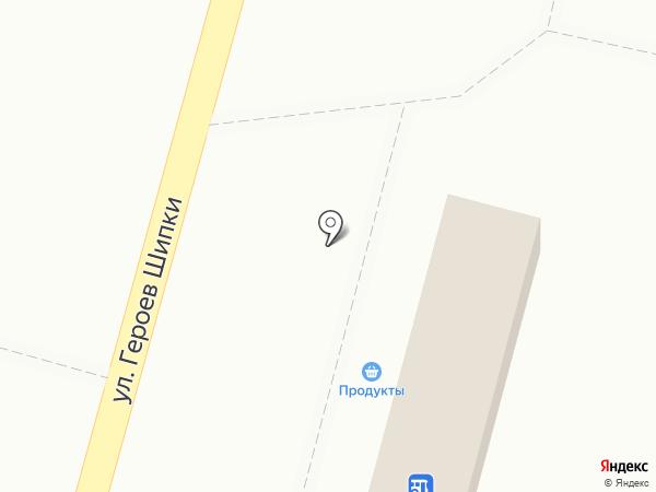 Пивнушка у Танюшки на карте Волгограда