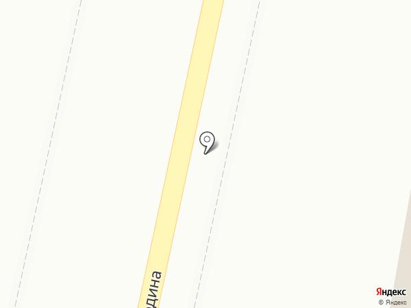 Автобан на карте Волгограда