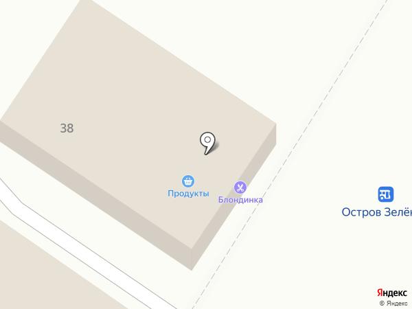 Блондинка на карте Волжского