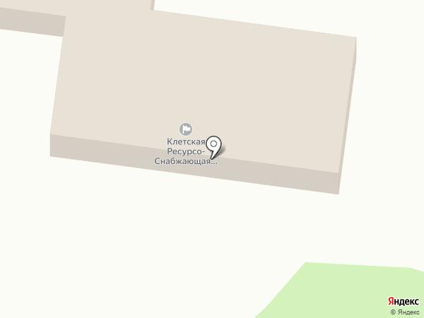 Аптечный пункт на карте Клетского