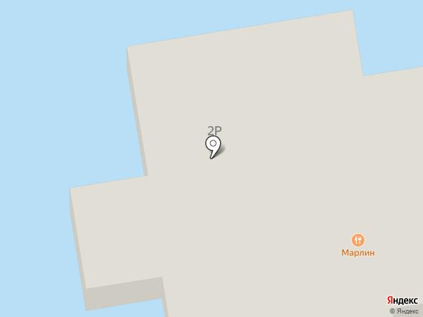 Марлин на карте Волжского