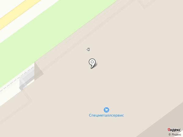 Волгоградский Трактор на карте Волжского