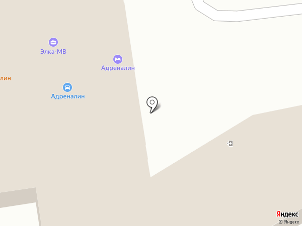Элемент на карте Волжского