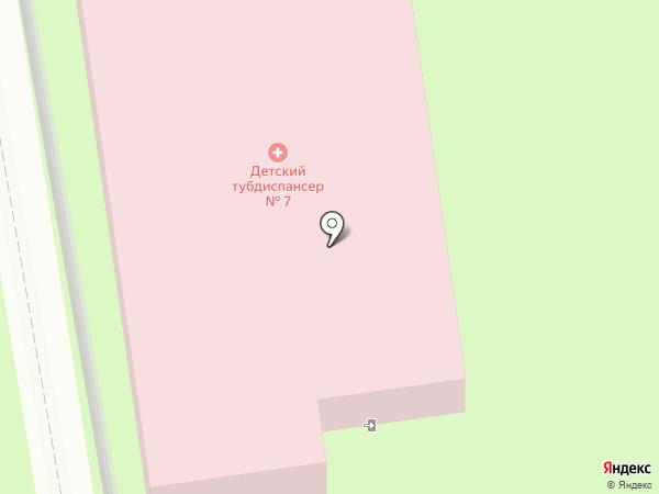 Волгоградский областной клинический противотуберкулезный диспансер на карте Волжского