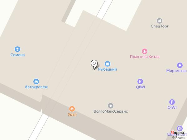 ВолгоМаксСервис на карте Волжского