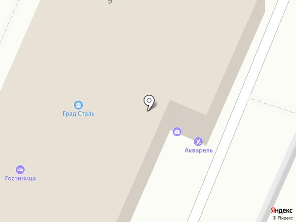 ЮгСтройКомплект на карте Волжского