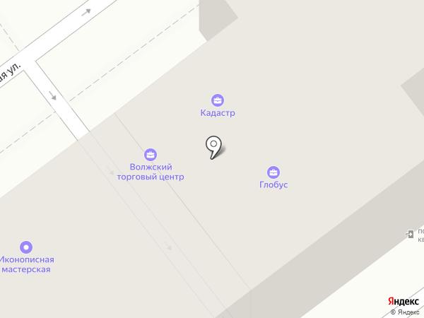 Кадастр на карте Волжского