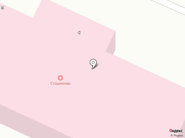 Волгоградский областной клинический кожно-венерологический диспансер на карте Волжского