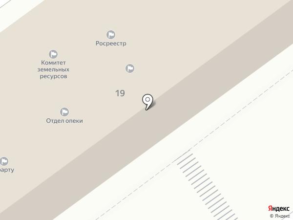 Территориальная административная комиссия города Волжского на карте Волжского