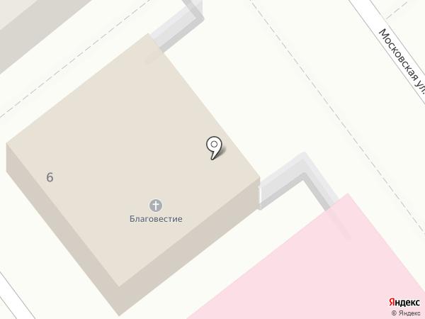 Церковь Евангельских Христиан-Баптистов на карте Волжского