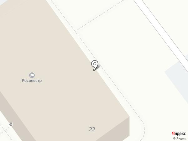 Управление Федеральной службы государственной регистрации, кадастра и картографии по Волгоградской области на карте Волжского
