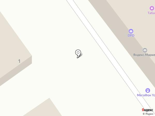 Весёлый дачник на карте Волжского
