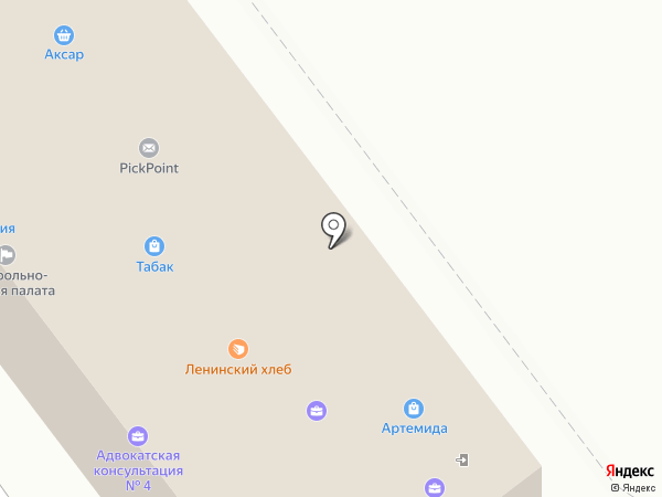 Чистое Пёрышко на карте Волжского